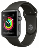 Умные часы Apple Watch Series 3 38mm Aluminum Space Gray