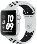 Умные часы Apple Watch Nike+ Series 3 42мм Silver Al/Bl MQL32
