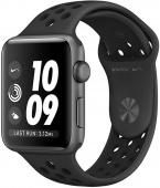 Умные часы Apple Watch Nike+ Series 3 42мм Space gray MQL42